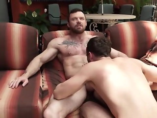 hunk (gay), daddy (gay), muscle (gay), anal (gay), couple (gay),
