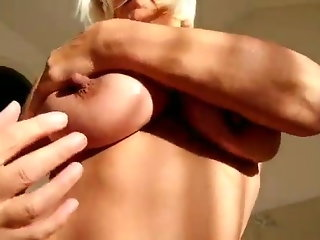 blonde, webcam, milf, big nipples, big tits, european