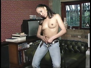 fingering, brunette, bisexual, milf, british, small tits