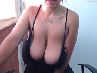 nipples, webcam, milf, big natural tits, saggy tits, big tits