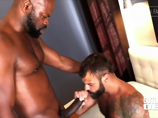 bear (gay), bareback (gay), big cock (gay), blowjob (gay), hunk (gay), interracial (gay)