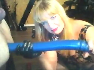 anal, amateur, sex toy, femdom, cfnm, homemade
