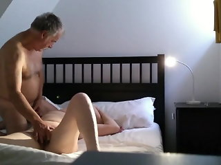 mature, brunette, hidden camera, french, hd videos, doggy style