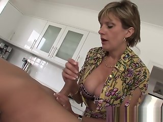 straight, big tits, mature, british, blowjob, hd