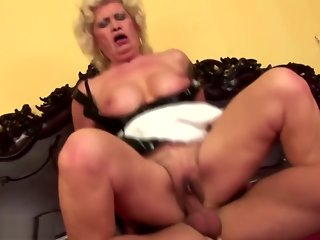 granny, creampie, hairy, mature, straight,