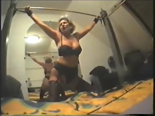 big tits, bdsm, blonde, german, lingerie, masturbation