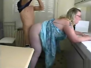bbw, anal, blonde, double penetration, fetish, milf