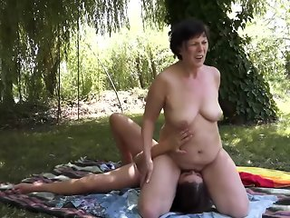 straight, cunnilingus, lesbian, oldy, mature, pissing