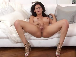 brunette, big tits, hd, masturbation, pornstar, secretary