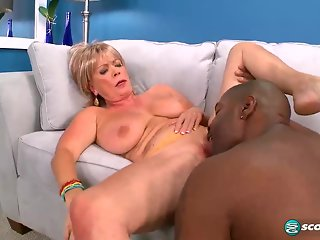 big tits, big ass, blonde, granny, interracial, mature