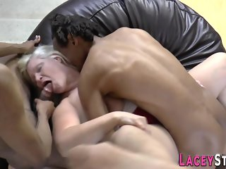 blowjob, anal, granny, interracial, mature, threesome